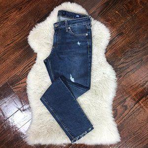 Lucky Brand Distressed Lolita Skinny Jeans Sz 4